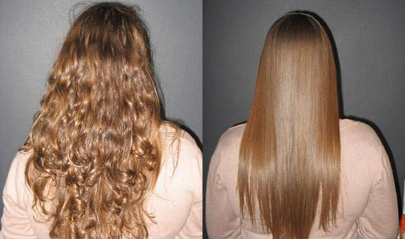Завивка на волосы до лопаток фото - 280
